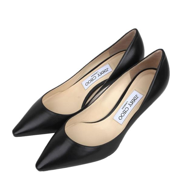 JIMMY CHOO 型号:ROMY60 KID BLACK