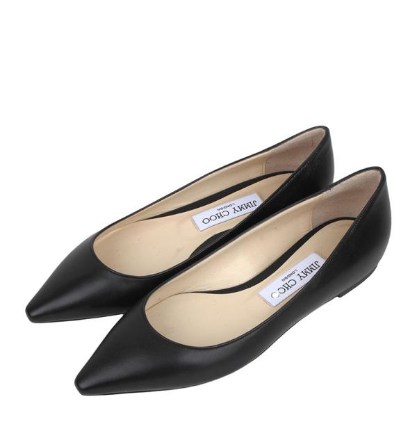 JIMMY CHOO 型号:ROMYFLAT KID BLACK